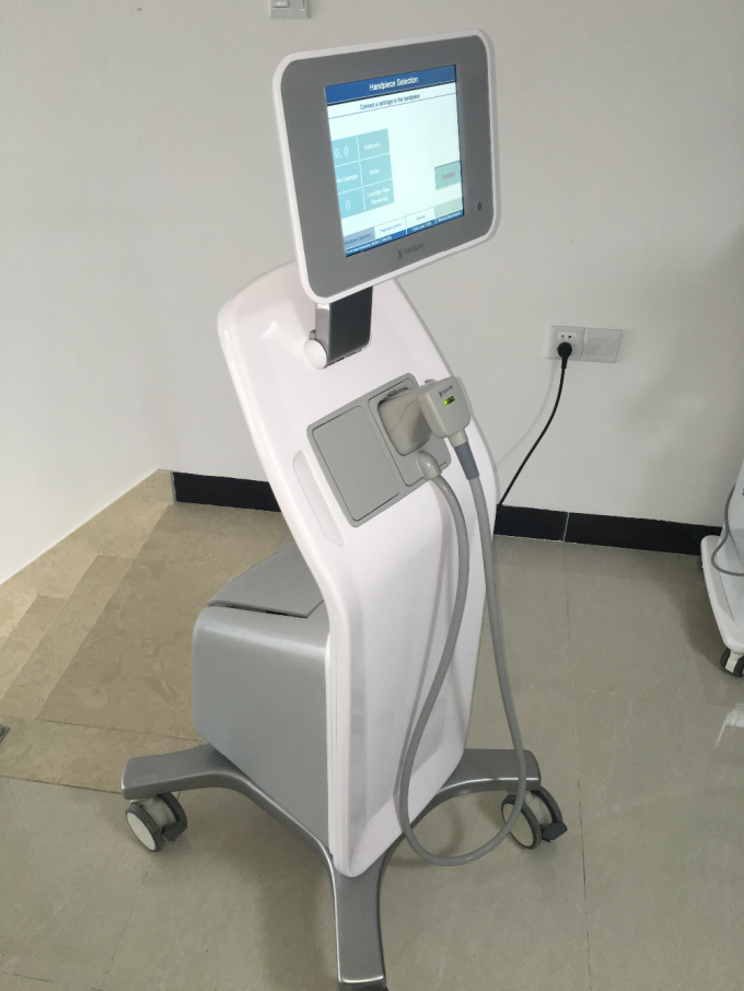 Beauty Salon Hifu High Intensity Focused Ultrasound Equipment 2 Transducers Body Shaping