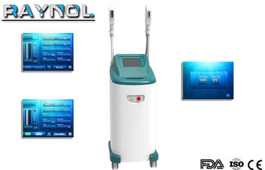 China SHR Hair Removal Laser Machine , Skin Rejuvenation OPT System Single Pulse supplier