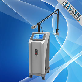 China Vertical 10600nm Co2 Fractional Laser Machine , Scar / Pore Removal Beauty Machine supplier