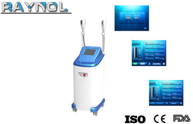 China 2 Handpieces IPL SHR Laser Hair Removal Beauty Machine 690-950nm supplier