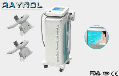 China 2 Handpieces Cryolipolysis Slimming Machine Safety For Body Reshaping factory
