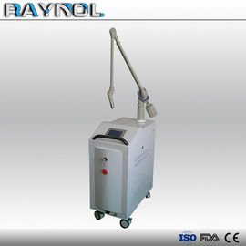China Active Tattoo Removal Q Switch Nd YAG Laser 1055nm / 1064nm / 532nm With Red Light factory