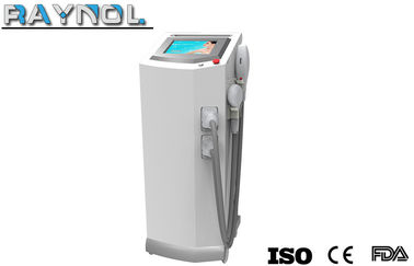 China SPA / Salon / Clinic IPL Diode Laser Hair Removal Machine Vertical For Women distributor